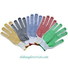 working gloves rubber dots