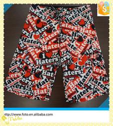 Factory price 100% polyester fabric men brand shorts beach,cheap men's shorts,beach shorts