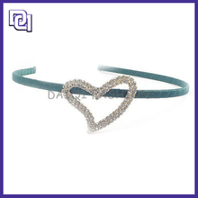 MAGNETIC SLIVER HAIR ACCESSORIES,CRYSTAL HEART BRAID HAIR BAND FOR HAIR ACCESSORIES
