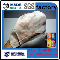 Soft Spunlace nonwoven fabric Material and Skin care Use Organic Baby Wet wipes