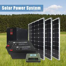Factory Price 12v Panel 250w Mini Home Power Hybrid Solar Energy System