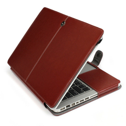 Fashion Flip Stand Pu Leather Case For Macbook Pro 13 Inch Book Cover Case For Mackbook