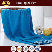 solid color organic bamboo fabric embroidery bamboo bath towel