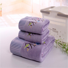 Box packing high quality bath towel for gift