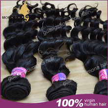 Completely tangle-free virgin hair 100% first-grade super soft malaysian hair
