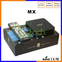 Hot sale mx Amlogic 8726 1G/8G hd 4k XBMC wifi 802.11 Black quad core android 4.2 smart tv box