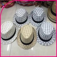 2015 New Fashion Casual Summer Women Men Fedora Panama Straw Hat