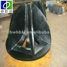 rubber lining pipe for miners equipment