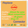Manufacturing molex 4-pin power adapter cable with 18 years experience