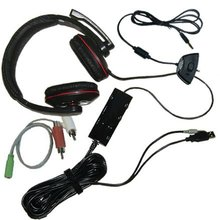 3 in1 Stereo expander headphones for ps3/xbox360/PC
