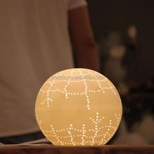 Forma de bola lâmpadas candeeiro de de porcelana
