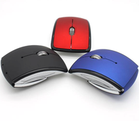 WM20 2.4ghz Optical Wireless Folding Mouse Foldable Mouse Arc Mouse