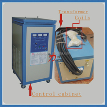 easy operation start-up fast environment friendly induction heating machine Frequency Press Machine small forging hammers