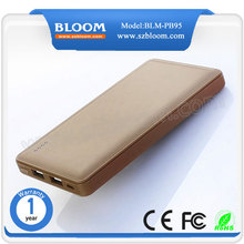 OEM logo ultra slim super fast charge high capacity bank power