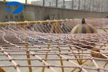 size 24 HDPE/PE construction safety net