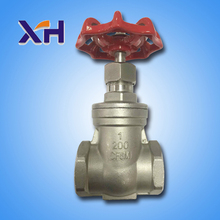 High Quality DN40 stainless steel Gate Valve for 201 Stainless steel female gate valve