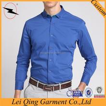 Top sellers designer modern men blue corner shirts