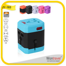 Wontravel Tourist promotion universal charger, Universal Plug Converter with 2.5A for promotion gift item