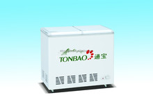 177L top open butterfly door chest freezer and chiller