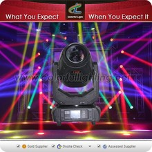 Promotion Lighting 10r beam spot wash 3 in 1 moving head light osram lighting