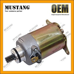 Motorcycle Starter Motor with High Temperature Wire, Start Easily!