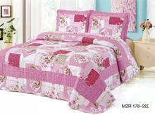 Patchwork bed sheets MZR178 Pink