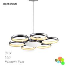 36W Decorative ring led pendant light