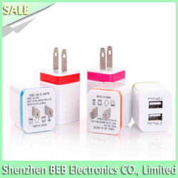 Manufacturer car and wall charger dual usb charger for andorid tablet /mibile phone