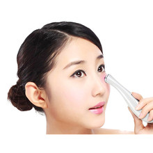 Battery power face eyes massage pen microcurrent wrinkles eraser eyes finelines corrector