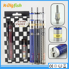 kingfish product airflow control evod twist 3 m16 e cigarette disposable rockets iii with factory price