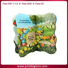 custom printing children board book