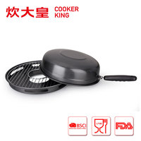 32cm Korea style carbon steel bbq gas grill pan