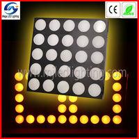 pro fantastic 25 30w RGB dj equipment stage matrix blinder stage light mixer