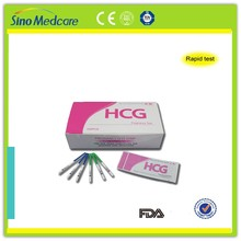 rapid hcg one step pregnancy test device