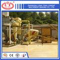 Madera de aserrín de pellets línea de producción de máquina alfalfa