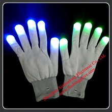 Small manufacturing ideas led flashing gloves