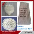 Materia prima MBT agentes químicos calzado chino