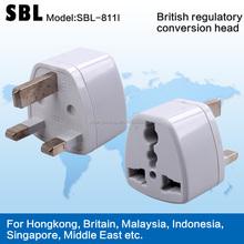 plug,The British plug,The gauge transformation head,13A Travel conversion socket