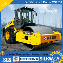 Road roller price XCMG 16 ton new model XS163J road roller for sale