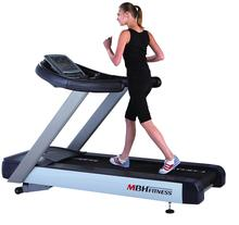 Commercial Treadmill with heart rate sensor, touch screen and TV