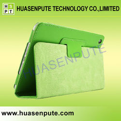 New Products For 2015 Factory Price Stand Leather Case For iPad Air 2