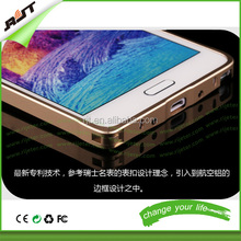 Amazing 0.5mm Ultra Thin Metal Frame Mobile Phone Case For Samsung note 4