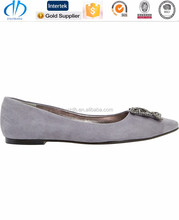 2015 hot sale ladies wholesale china flat shoe