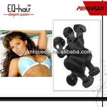 Natural black 1B color cheap wholesale price perfect body wave human hair peruvian hair