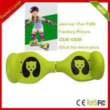 """2016 HOT Mini two wheels smart self balancing scooter 4.5"""" Hoverboard self balancing electric Child scooter for kids"""