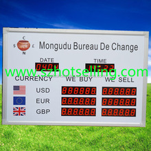 led electronic exchange rate board / Exchange Rate / BT18-38H58LR / BABBITT