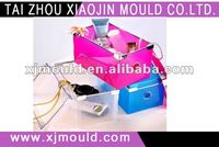 plastic jewellery/cosmetic goods container injection mould