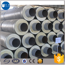 All sizes of heat resistant pipe in pipe with rigid foam filled and alarm line design for air conditioner system