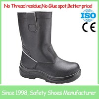 SF6860 oil field steel toe buffalo leather industry safety boot