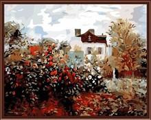 canvas oil paintings landscape ,diy painting by numbers GX6409 SGS,CE,EN71